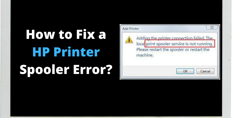 HP Printer Spooler Error
